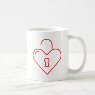 Unlocked Heart Coffee Mug