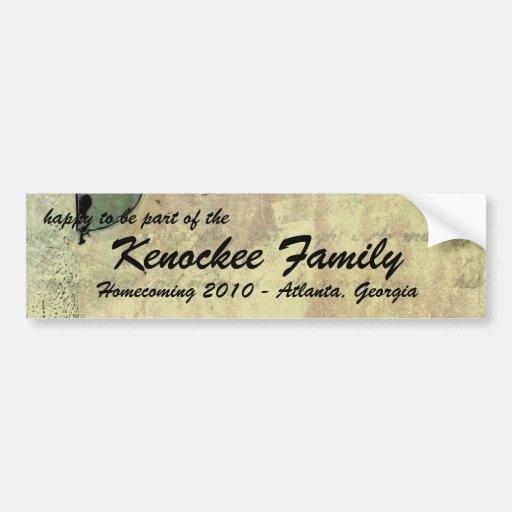 Unlocking Family Reunion Bumper Stickers