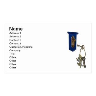 Unlocking the Door Double-Sided Standard Business Cards (Pack Of 100)