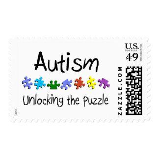 Unlocking The Puzzle Stamp