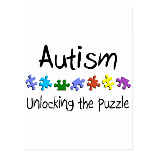 Unlocking The Puzzle Postcard