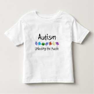 Unlocking The Puzzle Toddler T-shirt