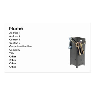 UnlockingEducation073110, Name, Address 1, Addr... Double-Sided Standard Business Cards (Pack Of 100)