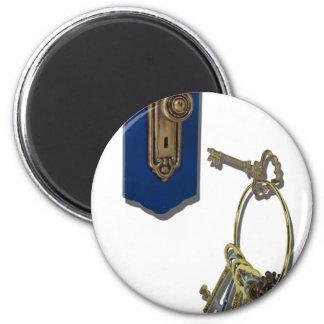 UnlockingTheDoor100711 Imán Redondo 5 Cm