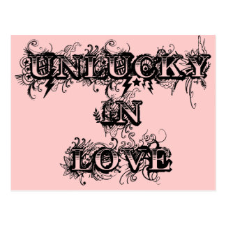 Unlucky in Love Postcards