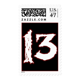 UNLUCKY NUMBER 13! POSTAGE
