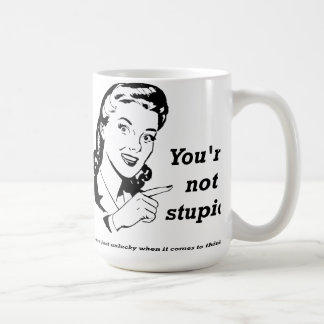 Unlucky Thinker Funny Mug