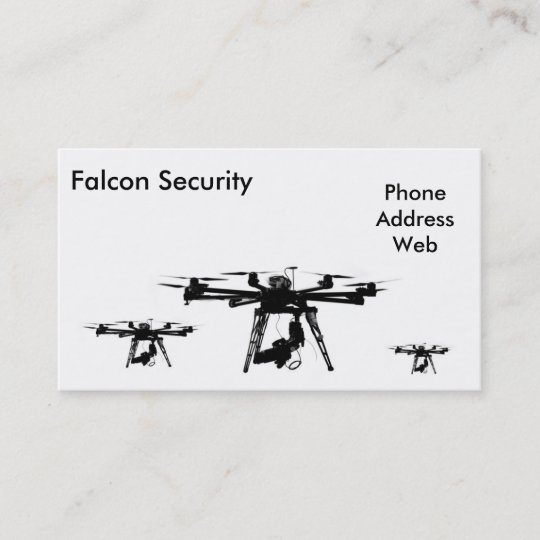 Unmanned Aerial Vehicles or Drones Business Card | Zazzle com
