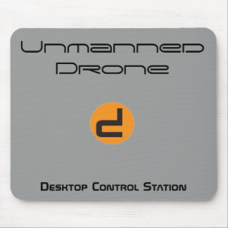 Unmanned Drone Desktop Control Station Mouse Pad