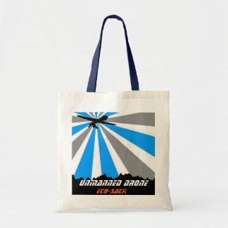 Unmanned Drone Eco-Sack Tote Bag