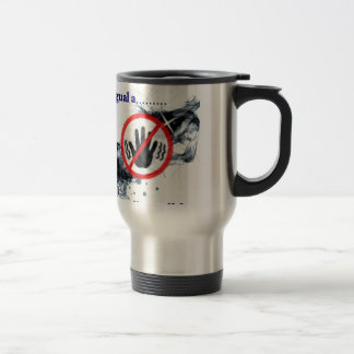 Unmarried he is not equal to available travel mug