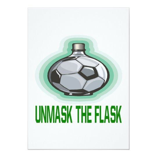 Unmask The Flask Card