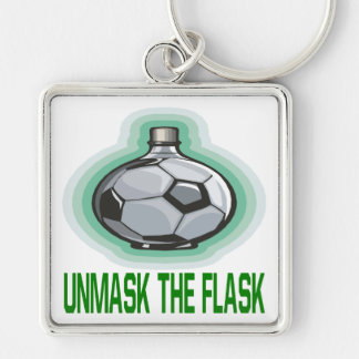 Unmask The Flask Keychain