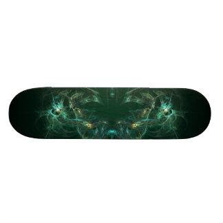 Unmasked Abstract Fractal Art Skateboard