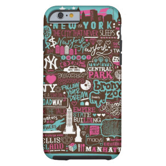 Unmemorable  New York time Tough iPhone 6 Case