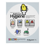 Unmentionables: Bathroom Hygiene Posters
