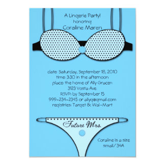 Unmentionables Blue Card