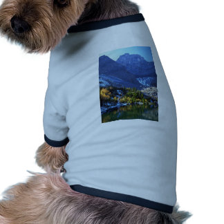 Unnamed Lake and Tombstone Mountain, Rocky Mountai Dog Shirt