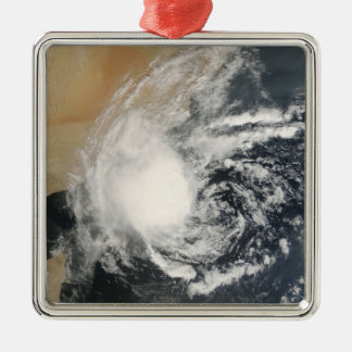 Unnamed Tropical Cyclone Metal Ornament