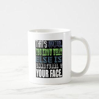 Unnatural Mugs