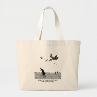 Unnatural Protection Canvas Bag