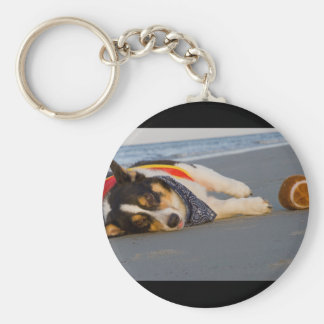 Unnecessary Roughness Keychain