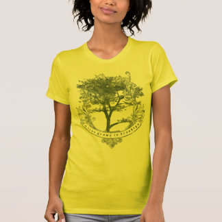 Uno-Árbol-Crecer-En-Brooklyn verde Camiseta