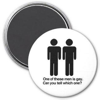 UNO DE ESTOS HOMBRES ES GAY PUEDE USTED DECIR CUÁL IMANES DE NEVERA