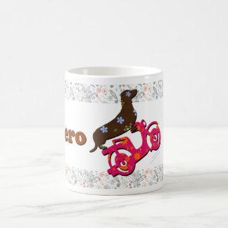 Uno de la taza de café del Dachshund el   Numero