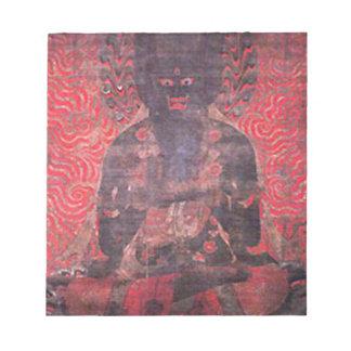 Uno de los cinco Bodhisattvas de la fuerza Blocs De Papel