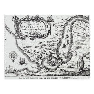 Uno de los mapas más tempranos del Magellan Postal
