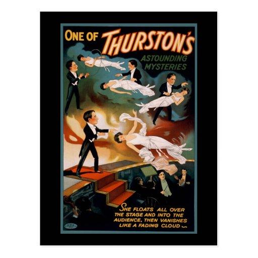 Uno de los misterios asombrosos de Thurston Postal
