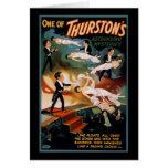 Uno de los misterios asombrosos de Thurston Felicitación