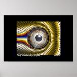 Uno de los ojos de dios (v2) posters