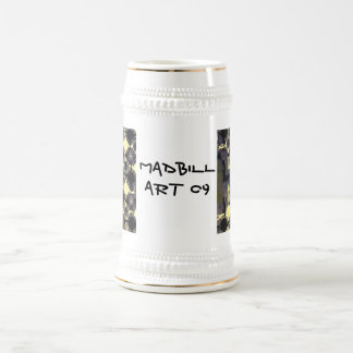 Uno de muchos cerveza Stien del arte de MadBill Jarra De Cerveza