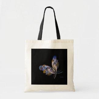 Uno de un bolso bueno de la mariposa bolsa lienzo
