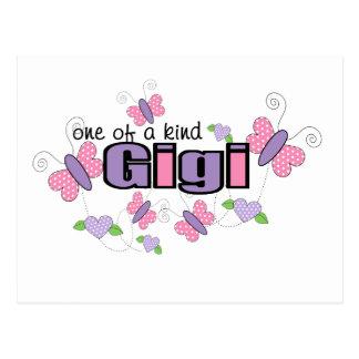 Uno de un Gigi bueno Tarjetas Postales