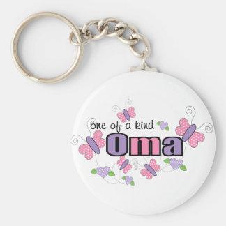 Uno de un Oma bueno Llavero Personalizado