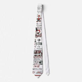 Uno, dos, abrocha mi zapato corbata personalizada