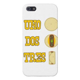 Uno, DOS, Burrito de Tres - caso del iPhone iPhone 5 Carcasas
