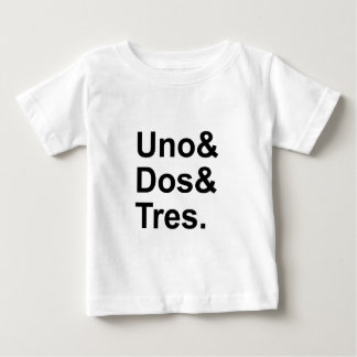 Uno Dos Tres | One Two Three in Spanish Baby T-Shirt