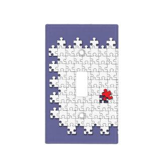 Uno en 110 - conciencia del autismo cubiertas para interruptor