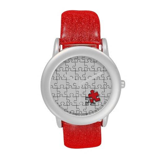 Uno en 110 - conciencia del autismo relojes de mano