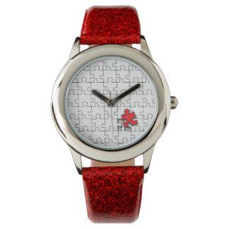 Uno en 110 - conciencia del autismo relojes de pulsera