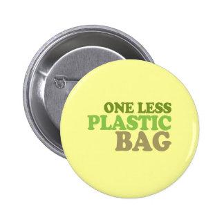 Uno la menos bolsa de plástico pins