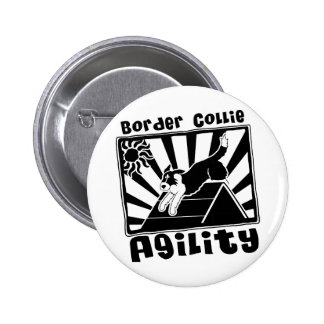 Uno-Marco de la agilidad del border collie Pins
