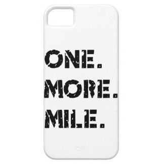Uno. Más. Milla iPhone 5 Fundas