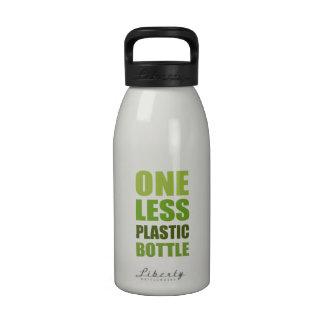 Uno menos botella plástica 16 onzas botallas de agua