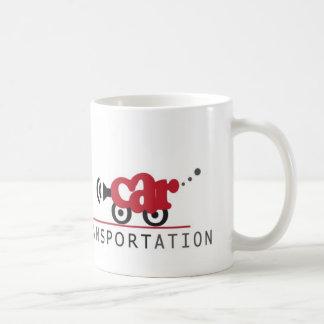 Uno menos coche tazas de café