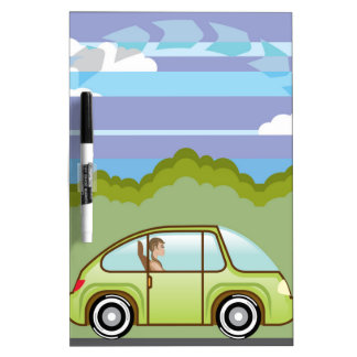 Uno mismo-conducción verde ecológica del coche pizarras blancas de calidad
